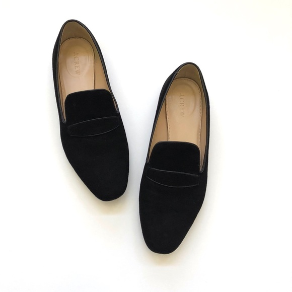 J. Crew Shoes | J Crew Black Suede